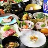 和食が奏でる最高のおもてなしコース料理がお勧めです。