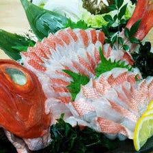 希少種の魚料理をご提供♪