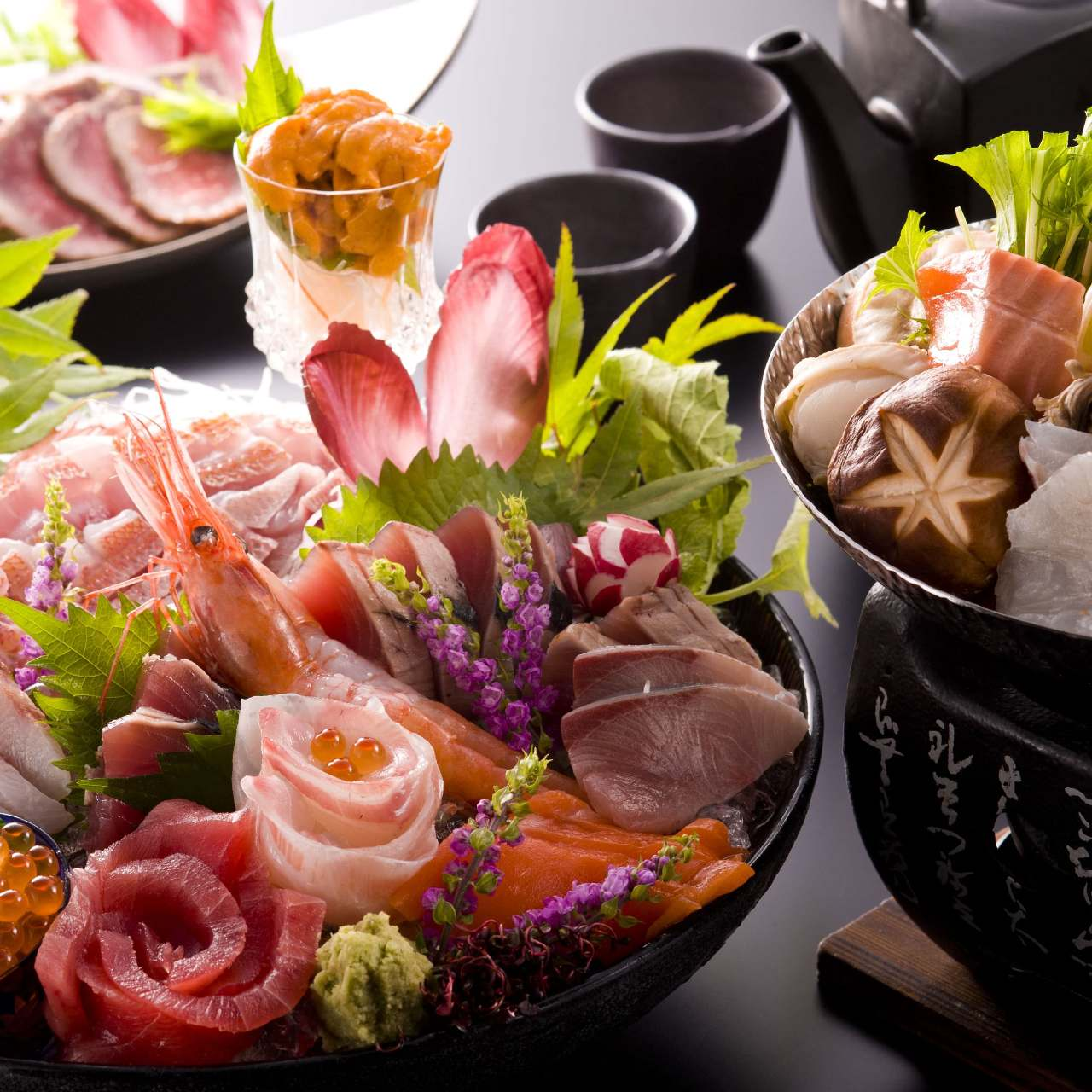四季旬彩プランのお料理例