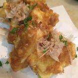 サクサク長芋の天ぷら