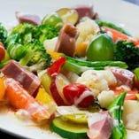 いろいろ採れたて温野菜サラダ