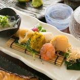 一品料理にも力をいれてこだわってご提供いたします! 和、洋、中殿料理でもお出しできておいしいと言ってもらえるようなお店を目指します!