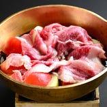 飛騨牛のトマトすき焼き