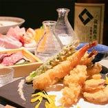 【自慢の和風創作料理を期間限定で楽しめるコース】