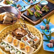 珠玉の逸品が彩る上質な和食コース