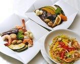 お食事も本格的な洋食を ご用意してます。