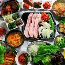 韓国料理で宴会!女子に大人気!