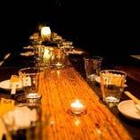 【隠れ家空間】 会社宴会に最適なプライベート空間をご用意