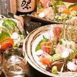 お刺身と日本酒で特別な日を
