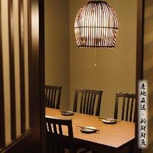 宴会夜景個室&接待個室&家族利用