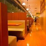 【テーブル席】窓側/ボックス席(4名様)