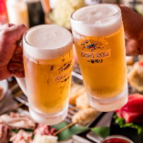 定番の「生ビール」などリーズナブルに楽しめる!角打ち気分で一杯