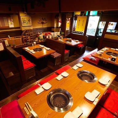 秘伝のタレで喰らう本格焼肉 焼肉慶 武蔵小杉店 店内の画像