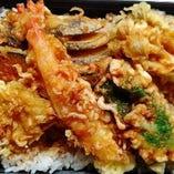 6種の天丼(調理時間5分程)