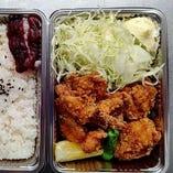 味わい鶏唐揚弁当(調理時間20分程)