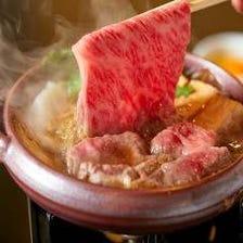 贅沢鍋が楽しめるコースもご用意。