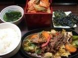 焼肉ランチ(ライス・スープ・韓国のり)