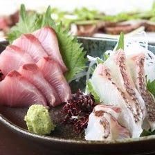 鮮魚の刺身 本日のおすすめにて!!