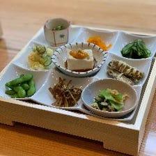 本格的な日本料理が並ぶ珠玉のコース