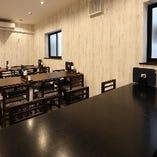 最大20名様収容可能なテーブル席完全個室