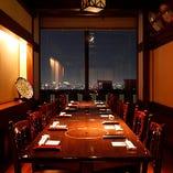 【テーブル洋個室16名様用】一例 8~10名様をご案内いたします