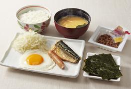 おすすめ和朝食もご用意しております。