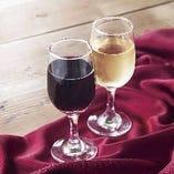 ハウスワイン グラス (赤・白)