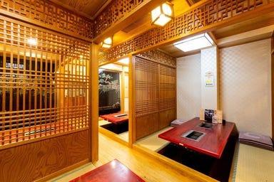 焼肉 京城 水道橋店 店内の画像