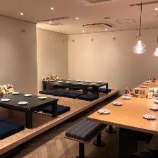 ◆心地よい空間でゆっくりお食事を…