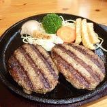 広島牛100%と広島牛6%の食べ比べ。どっちがどっちでしょうか