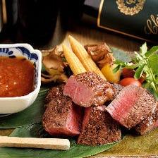 黒毛和牛ヒレ肉ステーキ