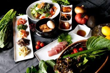 KOREA TERRACE DINING アイドコロ メニューの画像