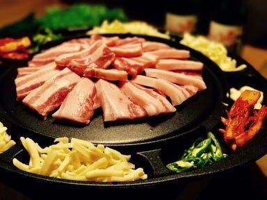 KOREA TERRACE DINING アイドコロ コースの画像