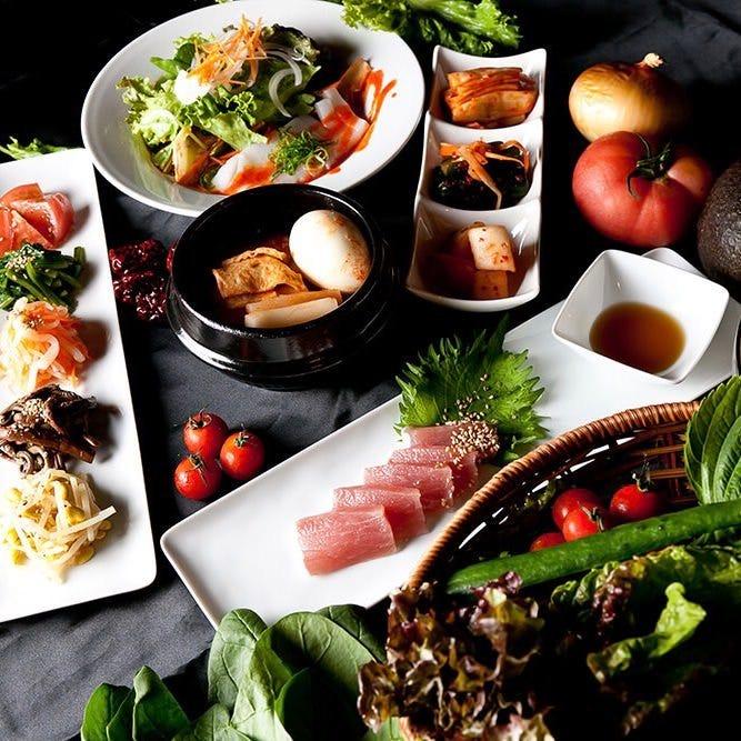 手間暇かけた当店ならではの韓国料理をぜひご堪能ください。
