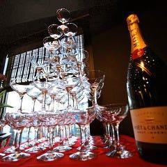 シャンパンタワー有り
