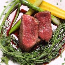 蔵王爽清牛 フィレ肉のステーキ