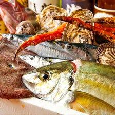 [旬食材]築地・北陸の魚介類を仕入れ