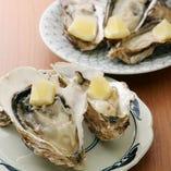 ◆生牡蠣・焼牡蠣 岩手県広田湾の香り豊かな牡蠣を是非!