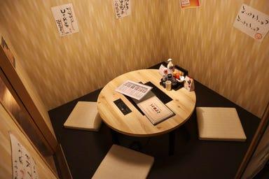 炭火野菜巻き串と餃子 博多 うずまき 長崎思案橋店  店内の画像