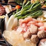 飲み会に最適な選べる鍋コース!一番人気の「鶏鍋」は絶品です