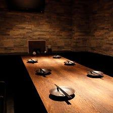 お食事に最適なプライベート完全個室