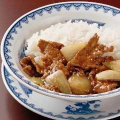 牛ヒレ肉の中華カレーライス