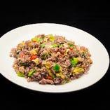 十六穀米の野菜チャーハン