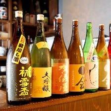 愛媛のお酒が種類豊富に揃う店