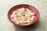 手鞠湯葉入り白麻婆豆腐