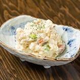 蛸の甘辛ポテトサラダ