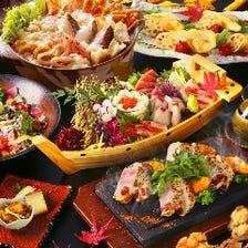 【松-MATU-コース】歓送迎会にオススメ★食事10品+2時間飲み放題!贅沢な鍋料理に舌鼓を打って大満足しよう