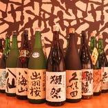 美味しい日本酒がたくさん!グラスサイズもご用意してあるますので、いろいろと飲み比べを♪