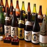 全て飲み放題!コースで日本酒満喫♪
