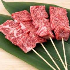 厚切!牛ステーキ串炙り焼き